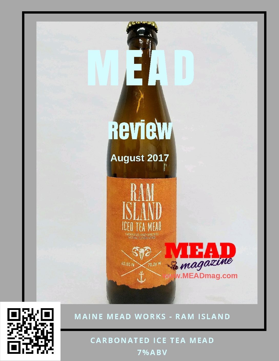 Maine Mead Works: Ram Island
