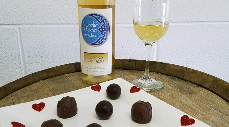 Connecticut Meadery Perfecting Ginger Mead infused Chocolate Truffle